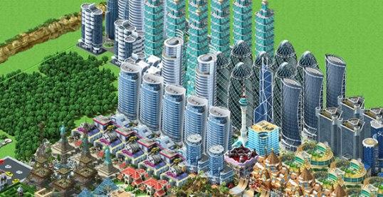 Megapolis'te gökdelenleri böyle yığabilirsiniz :)