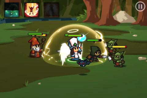 Battleheart'da değişik özellikteki hero'larından yenilmez ekibinizi kurun