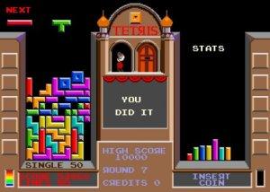 Atari salonunda bile Tetris oynardık