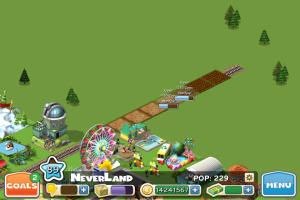 CityVille'de tren yolu üzerinde mısır yetiştirebilirken...