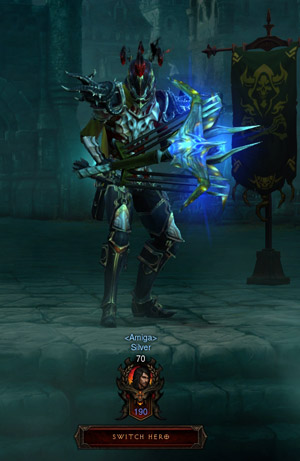 Diablo 3 Demon Hunter: Silver