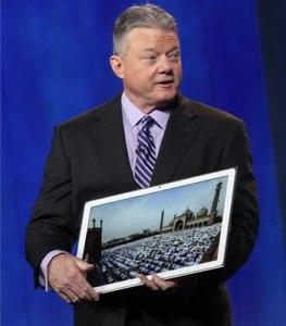 Panasonic 20 inch tablet